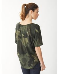 Alternative Apparel - Natural Venice Printed T-Shirt - Lyst