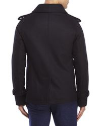 Moods Of Norway - Blue Leif Dale Short Peacoat for Men - Lyst