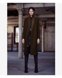 AllSaints | Green Una Coat Usa Usa | Lyst