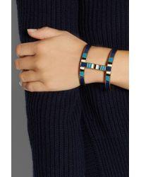 Isabel Marant - Metallic Enameled Bracelet - Lyst