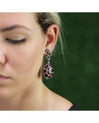 Arunashi | Pink Ruby And Diamond Earrings | Lyst
