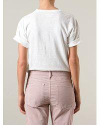 Étoile Isabel Marant - White 'keiran' T-shirt - Lyst