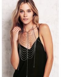 Free People | Metallic Moondance Bodychain | Lyst