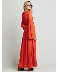 Free People | Red Womens Summer Love Dress | Lyst