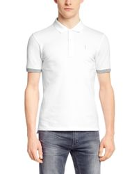 HUGO - White Regular-fit Polo Shirt 'nono-c' In Piqué for Men - Lyst