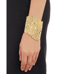 Givenchy - Metallic Crocodile Cuff - Lyst
