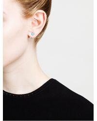Yvonne Léon | Metallic 18kt Gold Stud Earring | Lyst