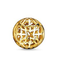 Thomas Sabo | Yellow Karma Bead Arabesque | Lyst