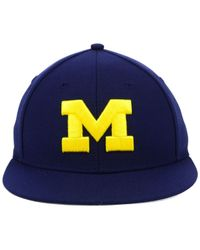 21655927461 Lyst - adidas Michigan Wolverines Ncaa On-Field Baseball Cap in Blue ...