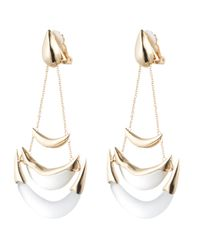 Alexis Bittar - Metallic Kinshasa Stacked Crescent Clip Earring You Might Also Like - Lyst