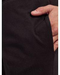 SELECTED - Black Lounge Shorts for Men - Lyst