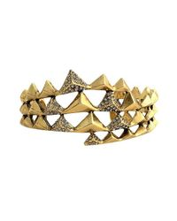 House of Harlow 1960 | Metallic Pyramid Wrap Cuff | Lyst