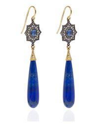 Arman Sarkisyan | Blue Lapis Lazuli Star Drop Earrings | Lyst
