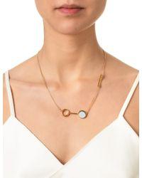 Bjorg | Metallic Gold Mirror At Midnight Necklace | Lyst