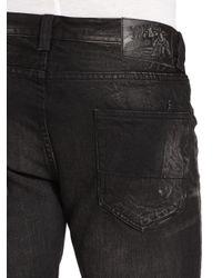 PRPS - Black Junkos Summit Faded Straightleg Jeans for Men - Lyst