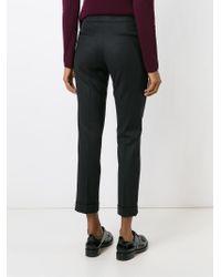 Etro - Black Cigarette Trousers - Lyst