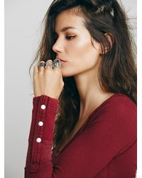 Free People - Red We The Free Sunnie Valley Cuff - Lyst