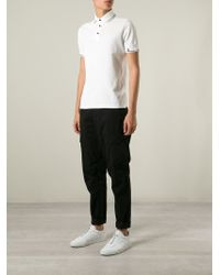 Stone Island - Black Cargo Trousers for Men - Lyst