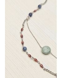 Free People | Purple Womens Double Layer Rosary | Lyst