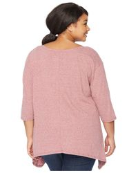 Wendy Bellissimo | Pink Maternity Plus Size Graphic Top | Lyst