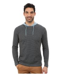 Agave | Blue Long Sleeve Hoodie/crew Stripe for Men | Lyst