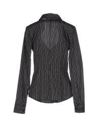 Frankie Morello - Black Shirt - Lyst