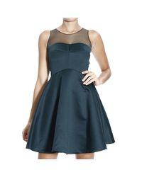 Pinko - Blue Dress - Lyst