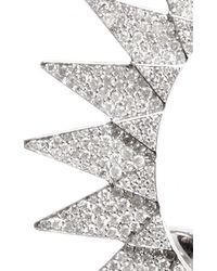 Runa | Metallic Diamond Sun Ear Cuff | Lyst
