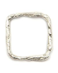 Niza Huang | Metallic 'illusion Square' Ring | Lyst