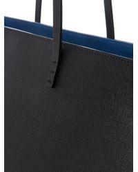 Fendi | Black Roll Monster Leather Tote | Lyst