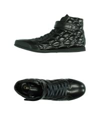 Cesare Paciotti - Black High-tops & Trainers for Men - Lyst