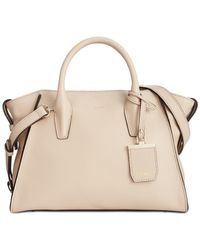 DKNY | Natural Chelsea Leather Satchel | Lyst