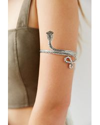 Urban Outfitters - Metallic Serpent Armband - Lyst