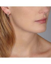 Astley Clarke   Yellow Diamond Double Hoop Earrings   Lyst