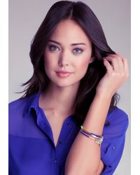 Bebe | Multicolor Neon Wrapped Charm Bangles | Lyst