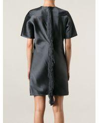 Alexander Wang - Blue Fringed Shift Dress - Lyst