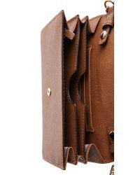 MICHAEL Michael Kors - Brown Jet Set Large Phone Cross Body Bag - Lyst
