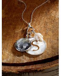 Ippolita | Metallic Blue Topaz, Diamond & Blackened Sterling Silver Birthstone Lollipop Charm | Lyst