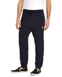 Stone Island - Blue Navy Sweatpants for Men - Lyst