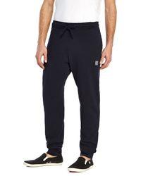 Stone Island | Blue Navy Sweatpants for Men | Lyst