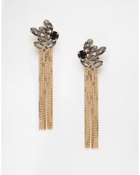Coast | Metallic Tallulah Tassel Earrings | Lyst