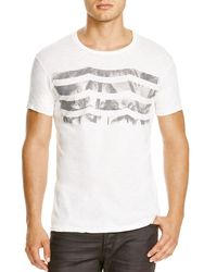Sol Angeles - White Black Palm Waves Tee for Men - Lyst