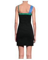 Versus - Black Viscose Dress - Lyst