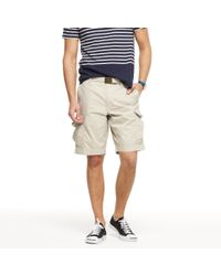 J.Crew | Natural Lightweight Brunswick Cargo Short for Men | Lyst