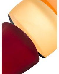 Monies - Red Pendant Earrings - Lyst