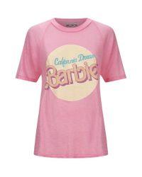 Wildfox - Pink California Dream T-shirt - Lyst