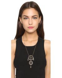 Pamela Love | Metallic Sueno Pendant Necklace - Brass | Lyst