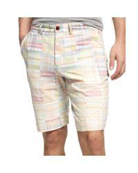 Tommy Hilfiger - Multicolor St Laurent Patchwork Shorts for Men - Lyst