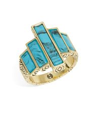 House of Harlow 1960 | Metallic Long Rains Steps Ring | Lyst
