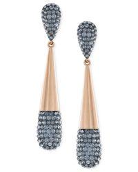 Swarovski   Metallic Cypress Small Crystal Drop Earrings   Lyst